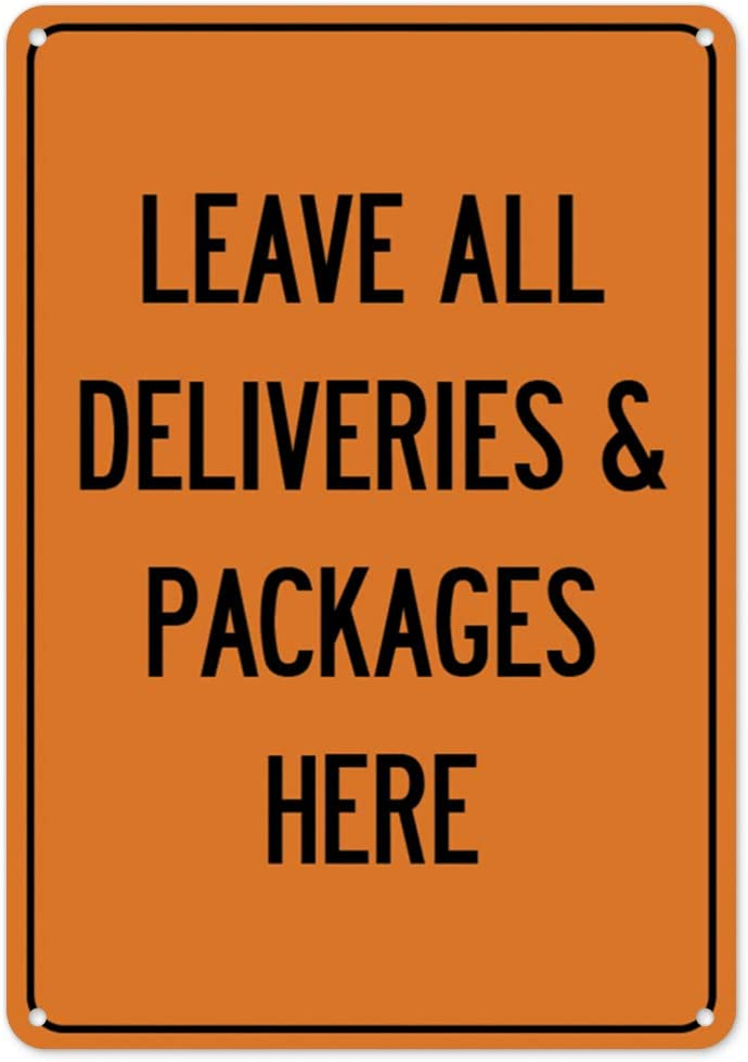 COVID-19 Notice Sign Protect Your Business Municipality Home /& Colleagues Attention Delivery Drivers Please Do Not Enter Plastic Sign Made in The USA