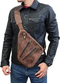 Leather Everyday Crossbody Bag, Wallet & Phone Pouch, Commuting & Travel Accessories, Handmade Includes 101 Year Warranty :: Bourbon Brown