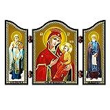 NKlaus 1455 GM schnell Erhörende christliche Ikone Skoroposlushnica reise Altar