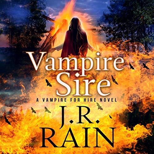 Vampire Sire audiobook cover art