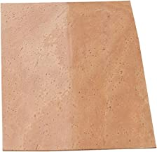 lovermusic Wood Color Saxophone Cork Sheet Replacement for Woodwinds Instrument Parts Accessories (Thickness:1.2MM)