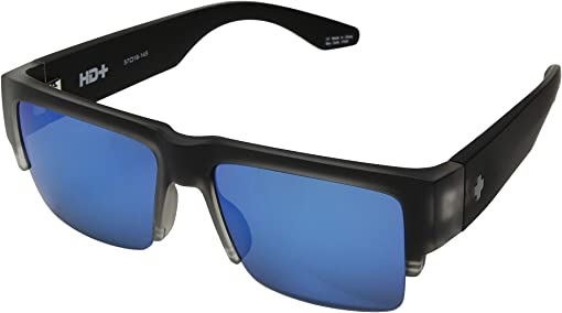 Matte Black Ice/HD Plus Gray Green/Dark Blue Spectra Mirror