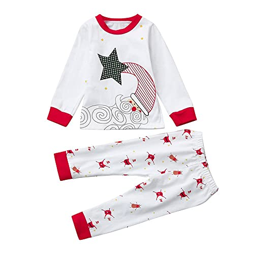 7 ate 9 Apparel Funny Kids Santa Christmas Raglan Tee Red