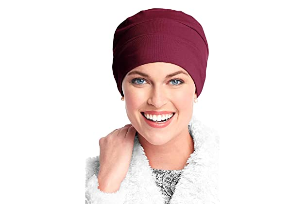 5b362b88d32 Headcovers Unlimited Three Seam Cotton Sleep Cap-Caps for Women with Chemo  Cancer Hair Loss