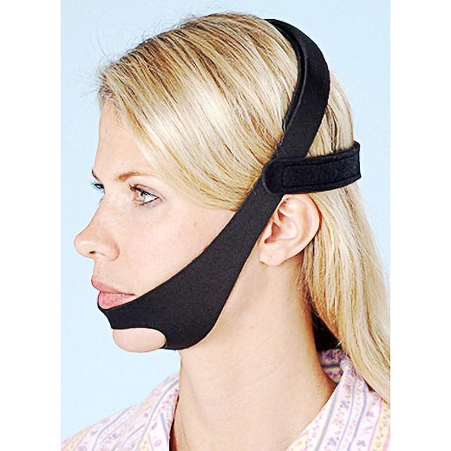 罰する相談する目に見えるDH 2018新しくいびき予防|調整可能なアンチSnoringチンストラップは、男性と女性のためにいびきのいびきSnore Relief Jaw Support Stop Snoring Solution DAHAN
