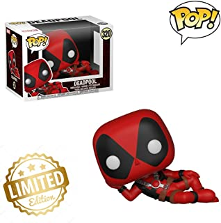 Pop Marvel - Sexy Deadpool Collectible Figure, Multicolor 💛Limited Edition
