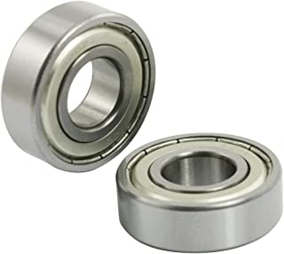 Uxcell s13061500am1098 6202Z Metal Shielded 15mm x 35mm x 11mm Deep Groove Ball Bearing 5 Pcs (Pack of 5)