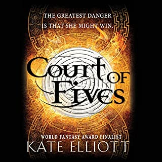 Court of Fives audiobook cover art