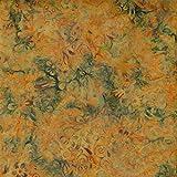 Fabric Freedom Kürbis Orange Flow Design 100% Baumwolle