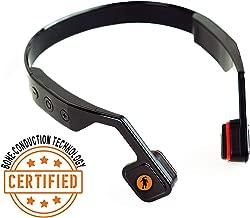 FRESHeTECH All-Terrain Bone Conductive Headphones, Black