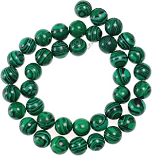 real malachite beads