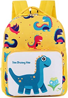 IMLECK Kids Backpack with Leash 3-6 Y Cute Dinosaur Toddler Baby Safety Harness Anti-lost Backpack
