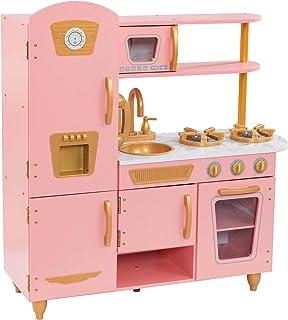 KidKraft Vintage Kitchen Playset for kids - Pink and Gold