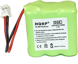 HQRP Transmitter Battery for GP 30AAAM6WML, Dt-Systems Super Trainer EDT 200, EDT 202, EDT 300, EDT 302 Dog Training Collar Transmitter + Coaster