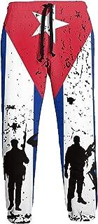 Emild Soldados de la Bandera de Cuba Veteranos Pantalones de ...
