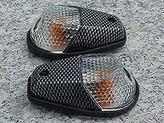 Carbon/Clear Flush-Mount Turn Signals for Honda CBR600RR CBR1000RR CBR 600RR 1000RR F3 F4i RR Kawasaki Ninja 250 300 500 ZX6R ZX10R Suzuki GSXR600 GSXR750 GSXR1000 GSXR 600 750 1000 Yamaha YZF R6 R1