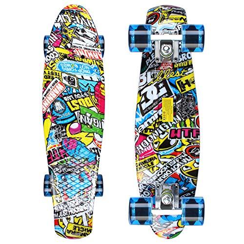 GORIFEI Mini Skateboard (Graffiti)