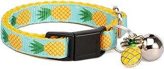 waaag Pet Supplies, (Tropical Pineapple) Cat Collar, Dog Collar, Cat Leash, Dog Leash, Small Dog Collar, Medium Dog Collar...
