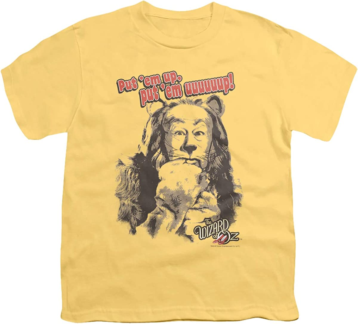 Wizard of Oz Put Em Up Unisex Youth T Shirt