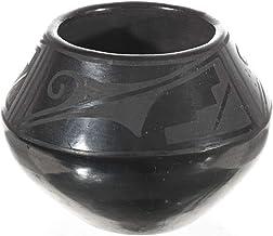 San Ildefonso Vintage Black Pottery By Desiderio 0010