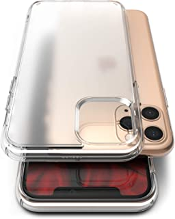 Ringke Fusion No-Smudge Case Made for iPhone 11 Pro Max, Anti Fingerprint Frost Translucent PC Clear Case for iPhone 11 Pro Max (2019) - Clear