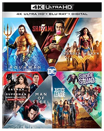 DC 7 Film Collection (4K Ultra HD + Blu-ray + Digital)