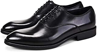 Business Pointed Wear Resistant Oxfords Shoes Formal Shoes (Color : Black, Size : 38)