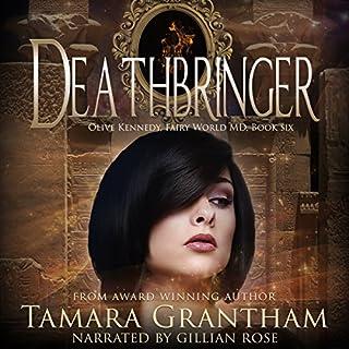 Deathbringer: Olive Kennedy audiobook cover art