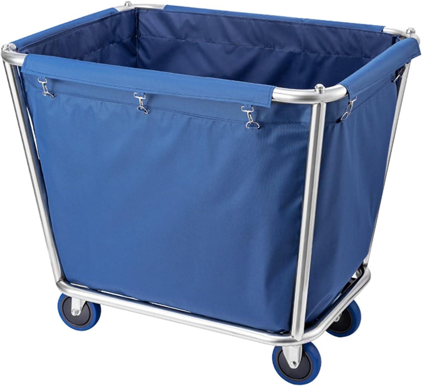 ZXXL Heavy Popular brand in the world Duty Laundry Max 65% OFF Hamper Commercial Cart w Sorter