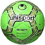uhlsport Infinity 290 Ultra Lite 2.0 Ballon de Foot Mixte Adulte, Fluo Vert/Marine/Noir, 5