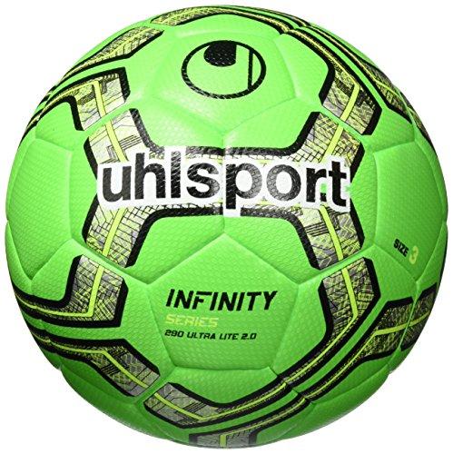 uhlsport Herren Infinity 290 Ultra LITE 2.0 Bälle, Fluo grün/Marine/Schwarz, 5.0