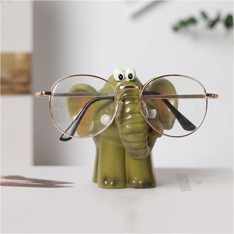 Lowest price challenge Sunglasses Rack Holder Creative Ele 4 years warranty Eyeglass Resin Animal