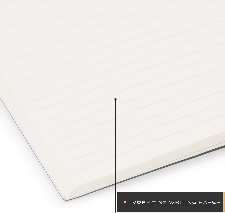 15x21 cm Aum Journal Recharges Papier D/écriture Ivoire 1 lign/ées recharge 208 pages lign/ées Noir journal intime recharges Pour A5 Format Aum Journals