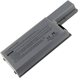 Dell New Replacement Laptop Battery for Dell Precision M65 M4300, Latitude D820 D830 D531 Li-ion, 11.1V, 6600mAh, 87wHr, 9 cells with 2 years warranty