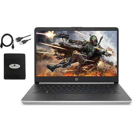 2021 Newest HP 14″ Laptop HD WLED-Backlit Display, 10th Gen Intel Core i3-1005G1(Beat i5-7200U), 8GB RAM, 128GB SSD, WiFi, HDMI, USB-A&C, Fast Charge, Bluetooth, Win10 S, w/Ghost Manta Accessories
