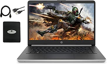 2021 Newest HP 14″ Laptop HD WLED-Backlit Display, 10th...