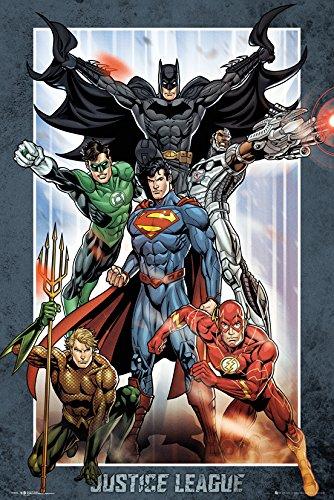 DC Comics GB Eye LTD, Liga de la Justicia Grupo, Maxi Poster, 61 x 91,5 cm