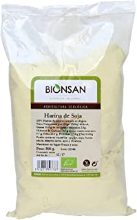 comprar comparacion Bionsan Harina de Soja Ecológica No Tostada - 4 Bolsas de 500 gr - Total: 2000 gr