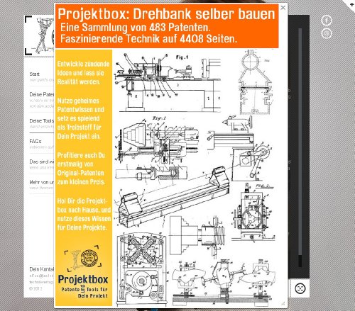 Drehbank selber bauen: Deine Projektbox inkl. 483 Original-Patenten bringt Dich mit Spaß ans Ziel!