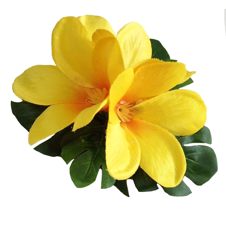 ゴネリル何もない肌welina(ウェリナ) ヘアクリップ 花 髪飾り 花飾り ヘアアクセサリー フラワー フラ ハワイ ハワイアン 001B