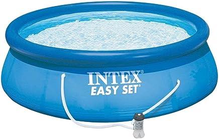 INTEX Swimming Pool Easy Set 305x76cm 28132GN - Pool, Filterpumpe und Filtereinsatz