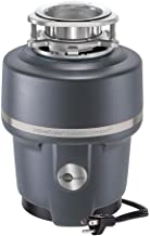 Insinkerator COMPACTCORD Evolution Compact Household Garbage Disposer with Cord, 3/4 Horsepower, Grey