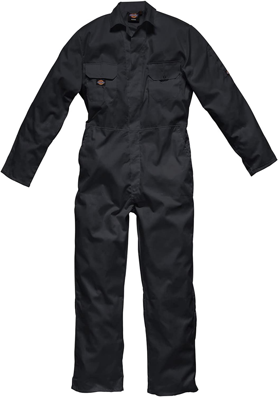 Dickies Workwear Mens Stud Front Overall Coveralls Boilersuit Workshop