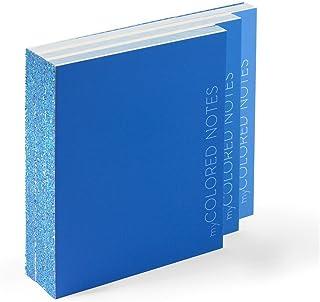 Idea regalo: Blocchi Notes Kit di 3 blocchi - MY COLORED NOTES BLU