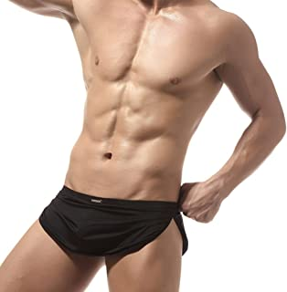Men's Sexy Bulge Pouch Boxer Brief Underwear Lounge Shorts Thongs Support