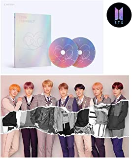 BTS [L ver.] LOVE YOURSELF Answer Album BANGTAN BOYS 2CD + Official Poster + Mini Book + Photo Card + Sticker Pack + Special Store Gift