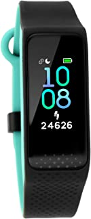 Fastrack reflex 3.0 (Black & Turquoise) Uni-sex activity tracker - Full touch, color display, Heart rate monitor, Dual- to...