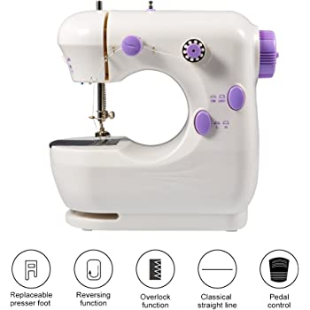 KPCB Máquina de coser para principiantes con material de bolsa de ...