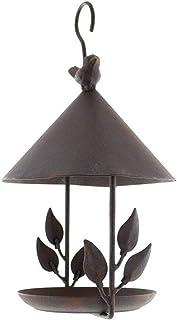 ZHANGXIAOYU Hierro alimentador de Aves de Aves al Aire Libre a Prueba de Lluvia a Prueba de Viento Alimentador Colgante de...