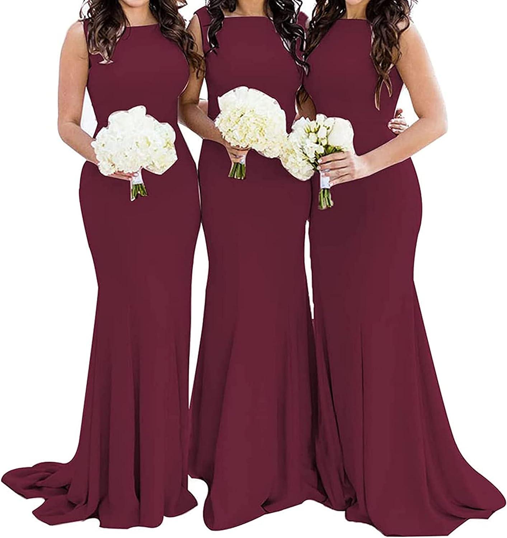 Bridesmaid Dress Long Prom Dress Formal Evening Gowns Mermaid Bridesmaid Dresses